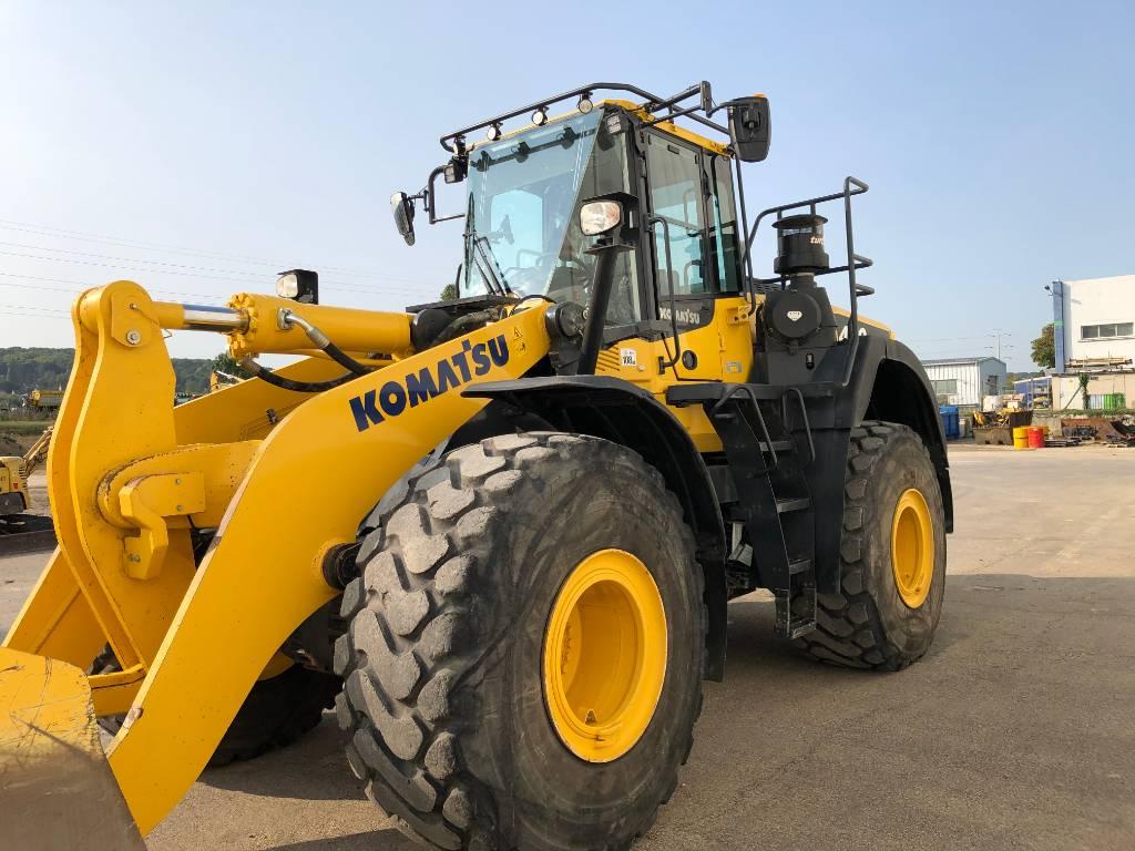 Komatsu WA480-8, Wheel Loaders, Construction Equipment