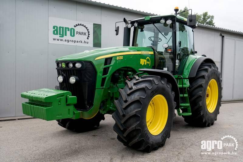 John Deere 8130 (5491 hours), 16 4 Powershift, 40 km h