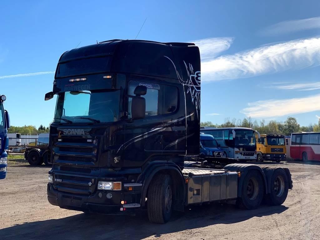 Scania R560 Full air+Retarder, Sadulveokid, Transport