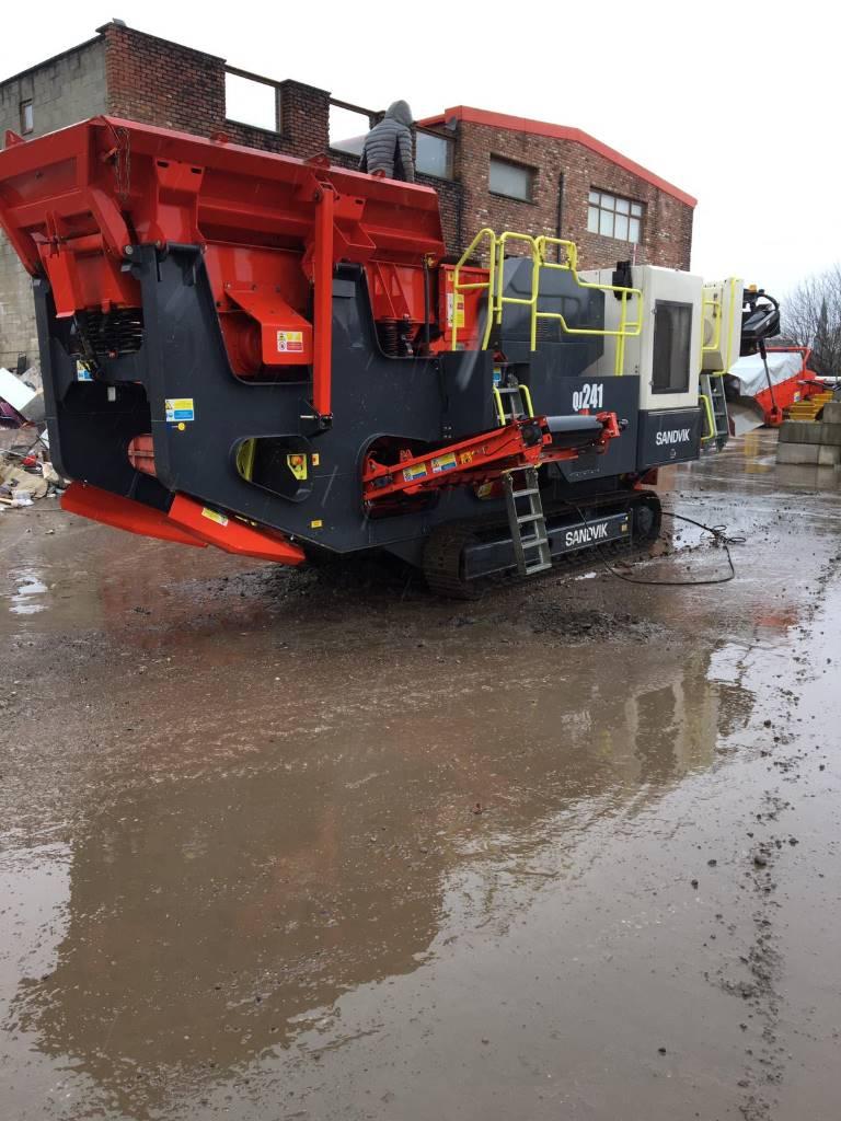 Sandvik QJ 241, Mobile crushers, Construction Equipment