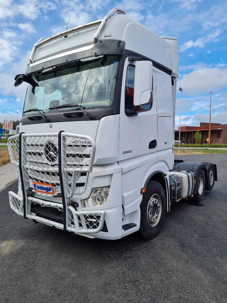 Mercedes-Benz Actros 2553, Conventional Trucks / Tractor Trucks, Trucks and Trailers