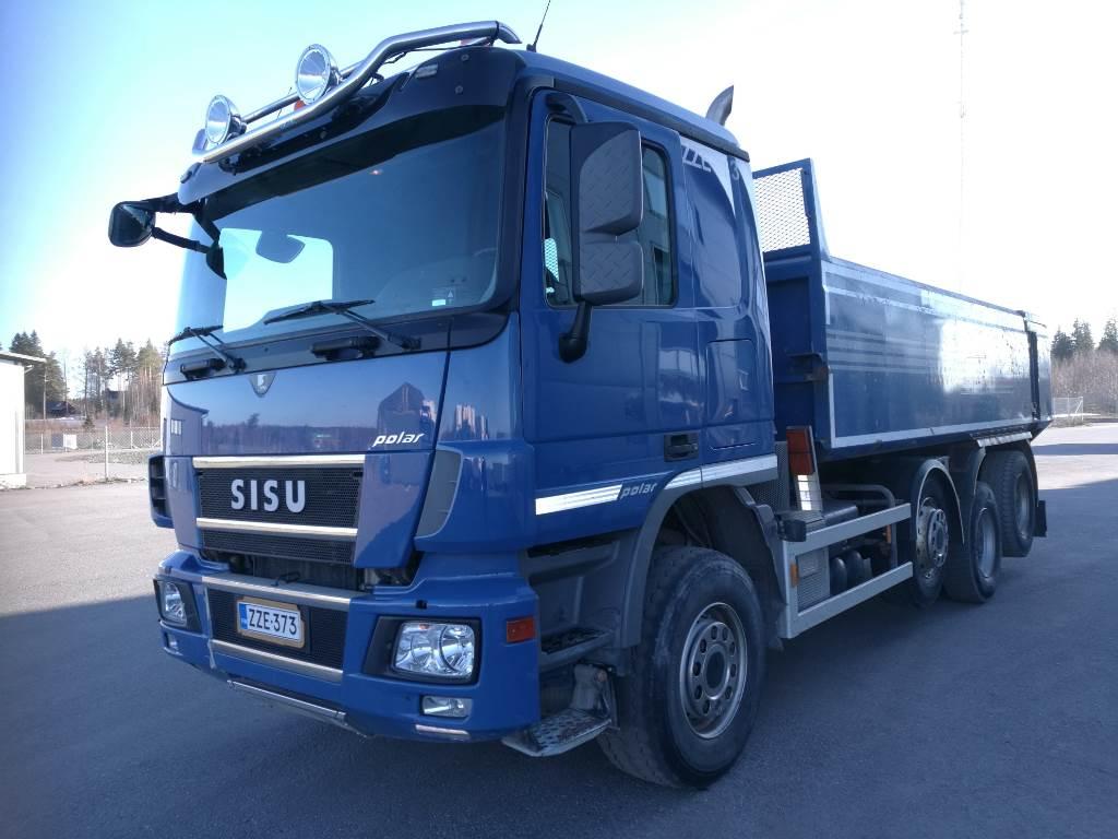 Sisu Polar DK16M 8x4, Tipper trucks, Transportation