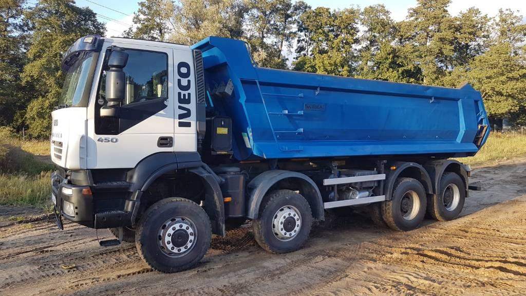 Iveco 450 8x8, Wywrotki, Transport