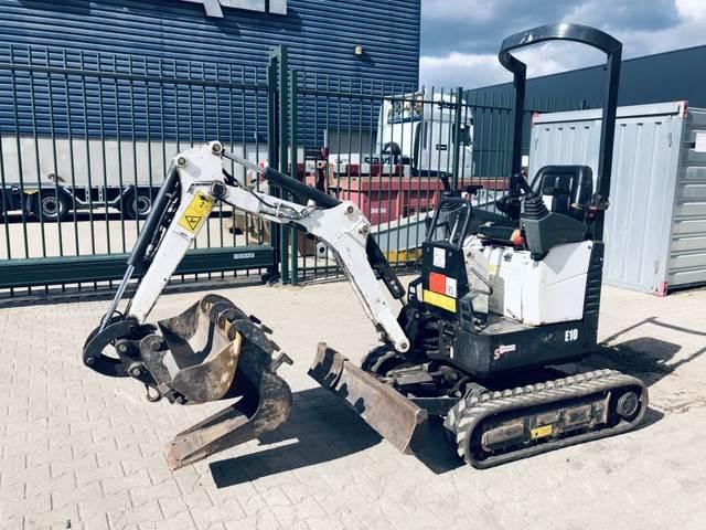 Doosan DX10, Mini digger, Construction Equipment