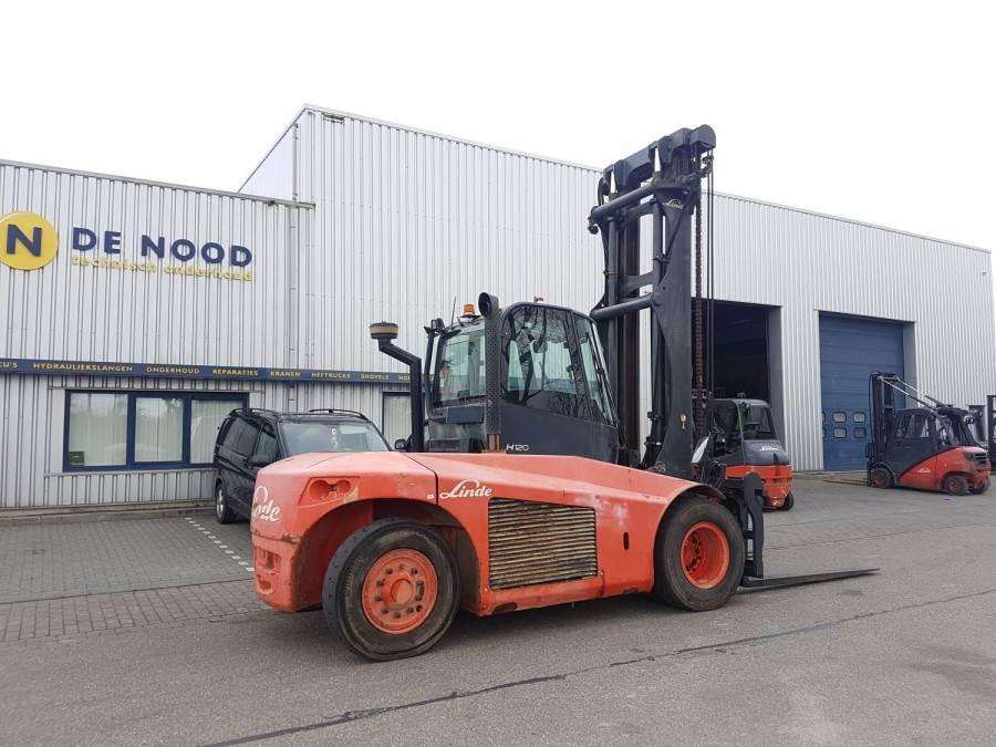 Linde H120D, Diesel heftrucks, Laden en lossen