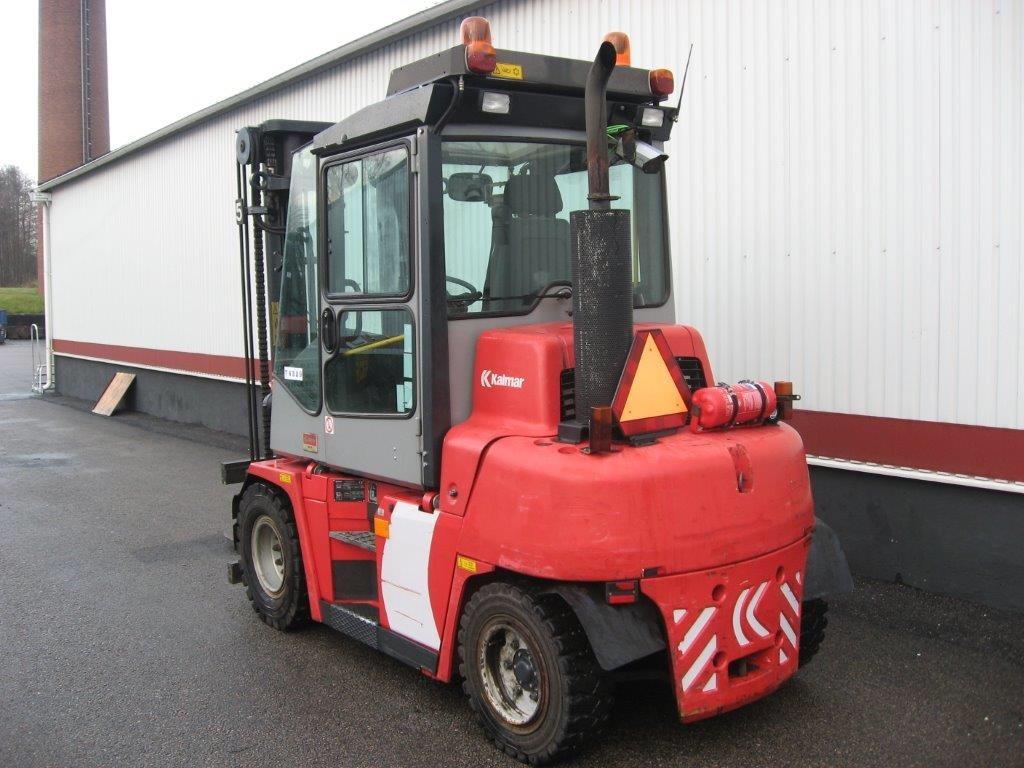 Kalmar DCE 50-6 HM/INKOMMANDE, Dieselmotviktstruckar, Materialhantering