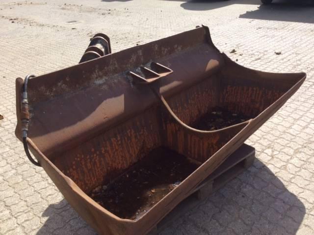 Beco 200cm kipbar planerskovle type V70 med S1 top, Brugte skovle, Entreprenør