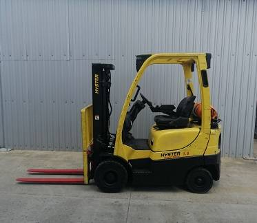 Hyster H 1.8 FT, LPG counterbalance Forklifts, Material Handling