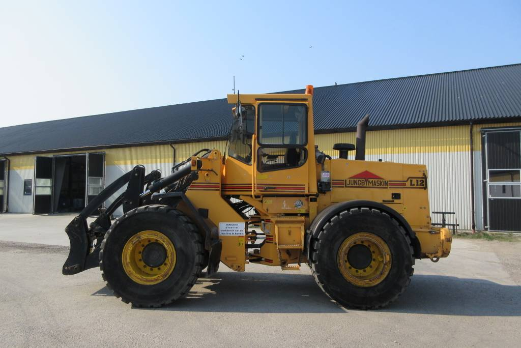 Ljungby L12 lastmaskin, nya 650 breda däck, Hjullastare, Entreprenad