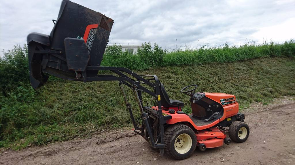 Kubota G 21 HD, Riding mowers, Groundcare