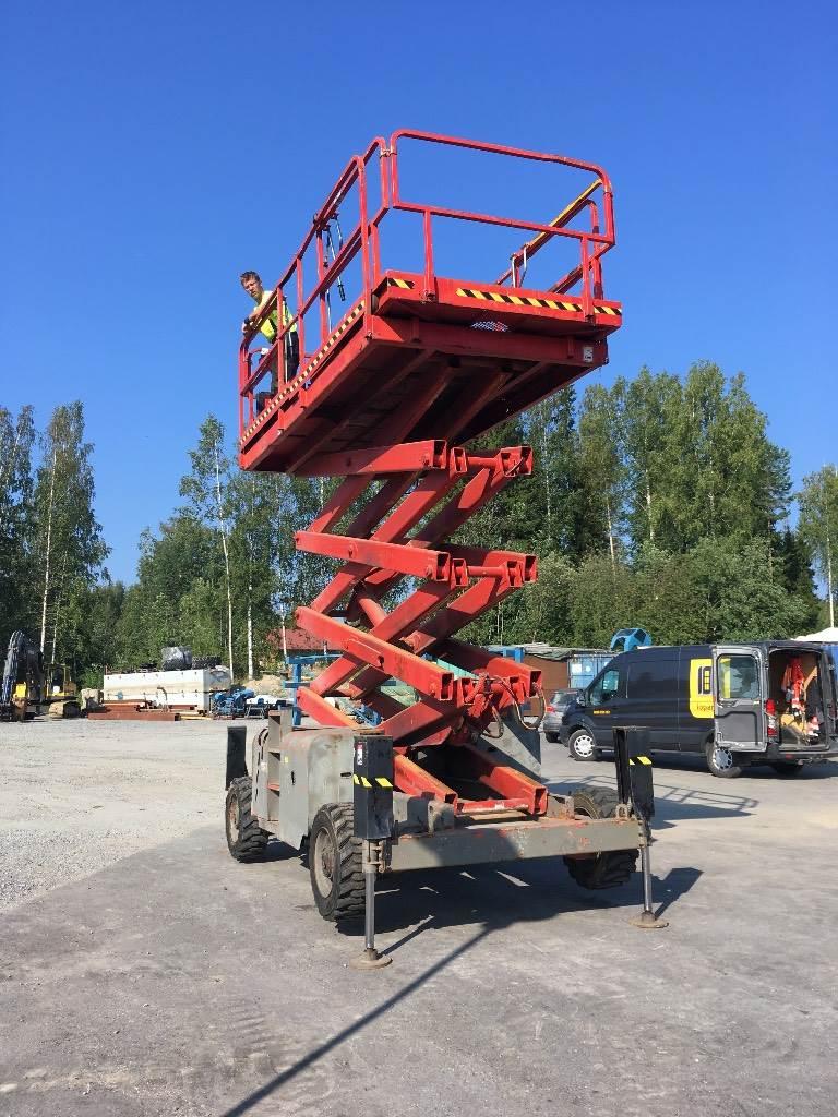 Haulotte H 15 SDX, Saksilavat, Maarakennus