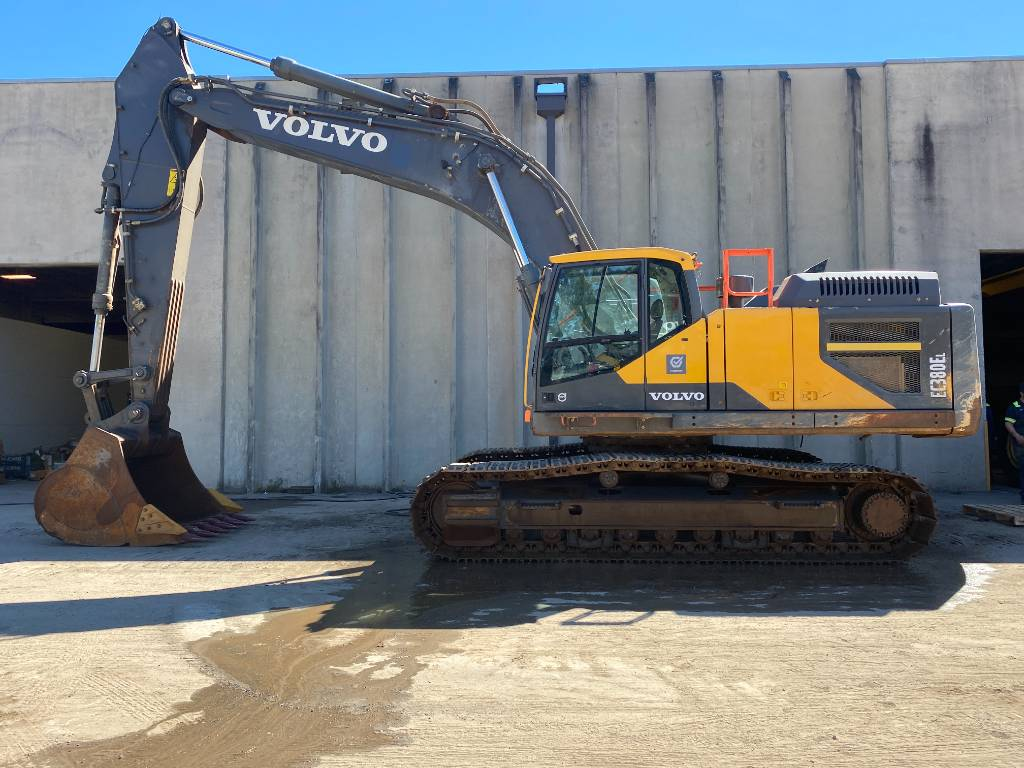 Volvo EC380EL, Crawler Excavators, Construction Equipment