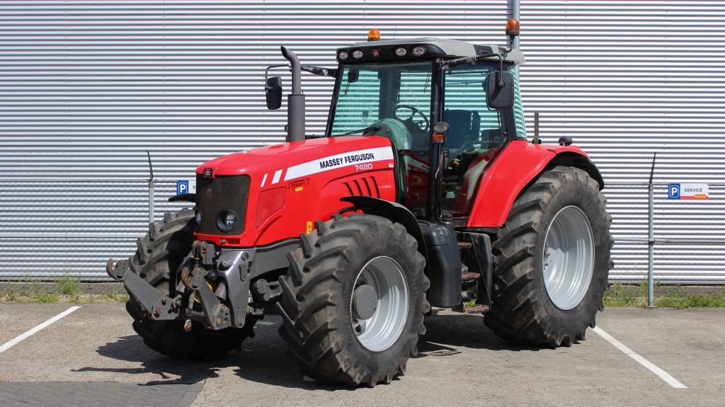 Massey Ferguson 7480 Dyna-VT, Tractoren, Landbouw