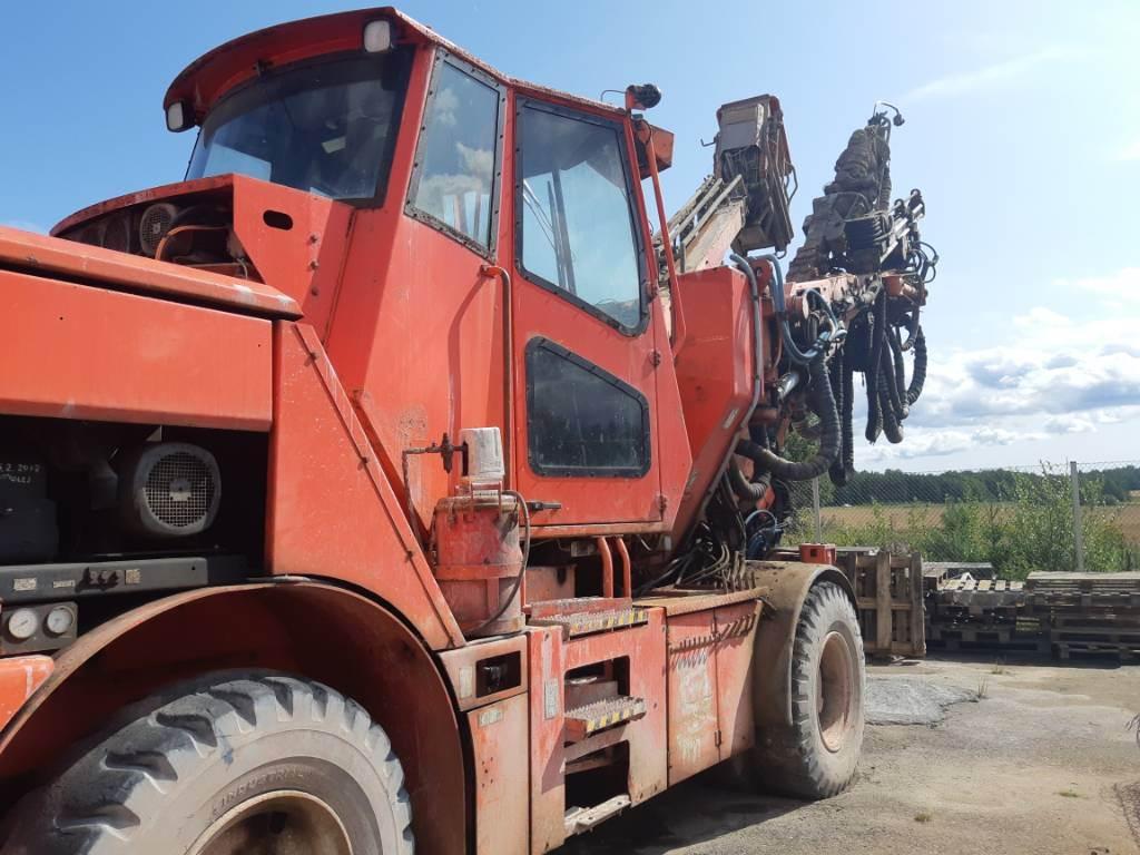 Tamrock AXERA T11S-315, Vaakaporauslaitteet, Maarakennus