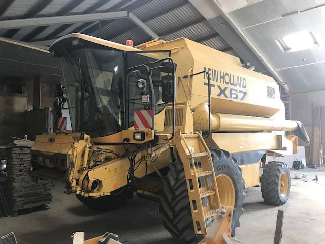 New Holland TX67, Maaidorsmachines, All Used Machines