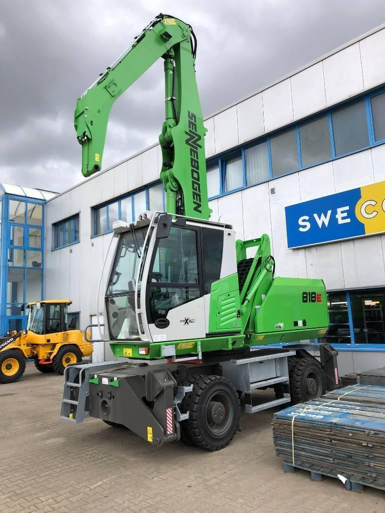 Sennebogen S 818 M-E, Waste / Industry Handlers, Construction Equipment
