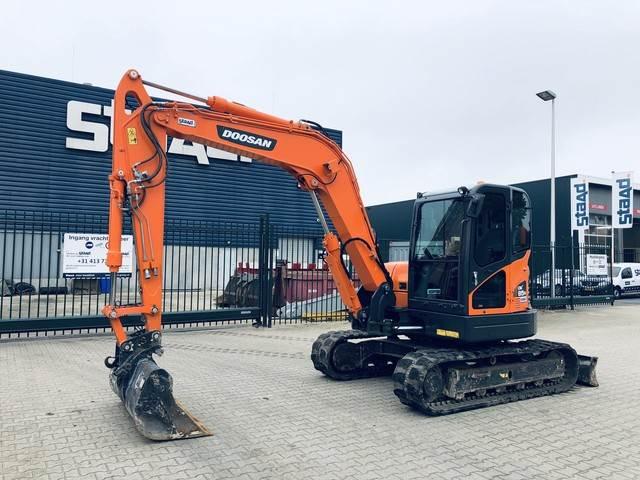 Doosan DX85R-3, Mini digger, Construction Equipment