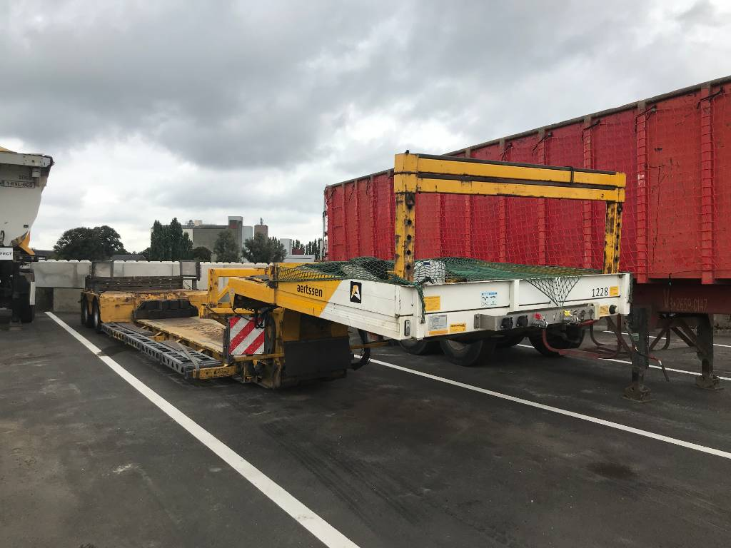 Faymonville Euro Megamax Smalbed, Low loaders, Transportation