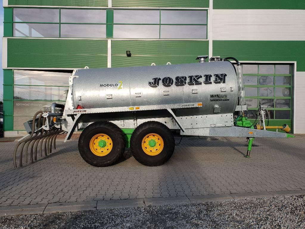 Joskin Modulo2 12000 MEB, Cysterny do szlamu, Maszyny rolnicze