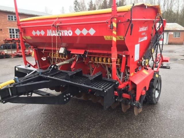 Junkkari Maestro 3000, Kylvölannoittimet, Maatalous