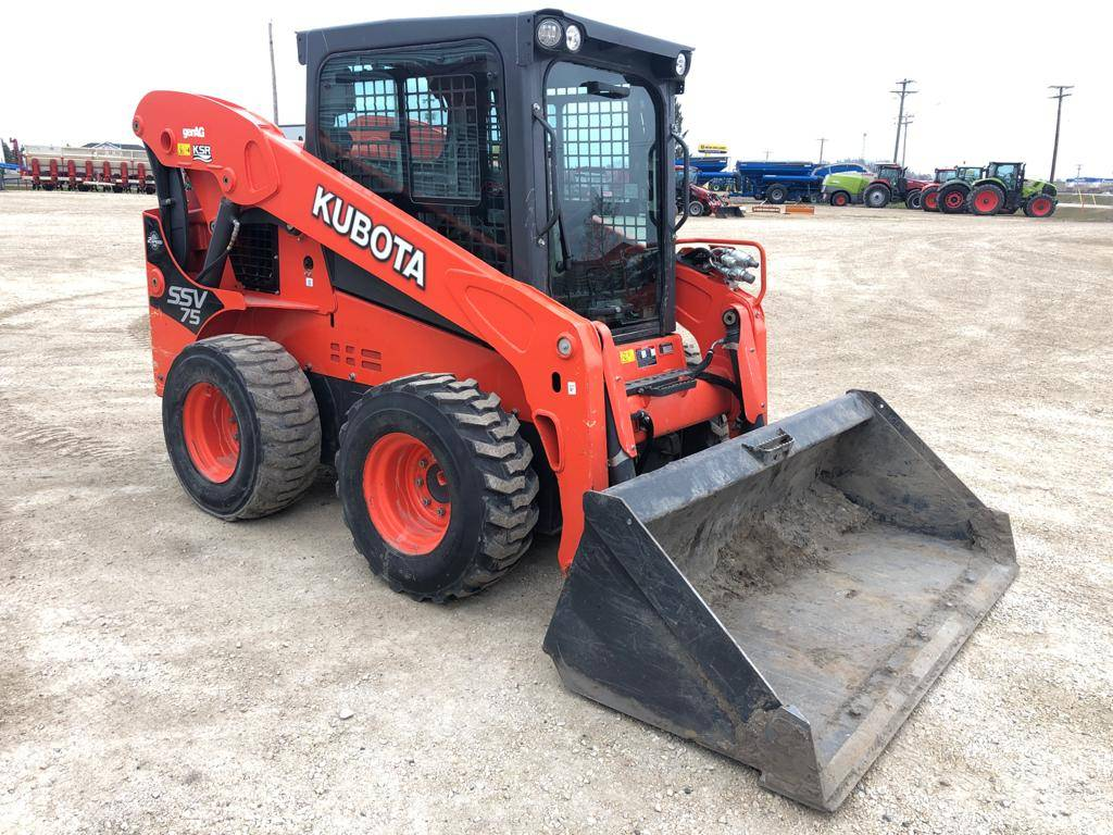 Kubota SSV 75, Skid Steer Loaders, Construction