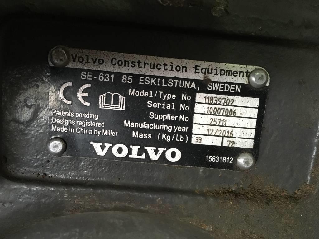 Volvo Mechanical Quick Coupler U04, Quick Connectors, Construction Equipment