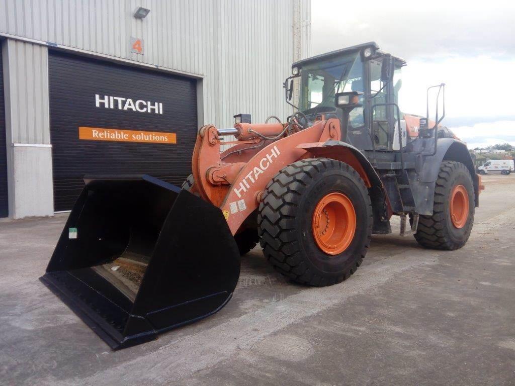 Hitachi ZW220-5B, Wheel Loaders, Construction Equipment