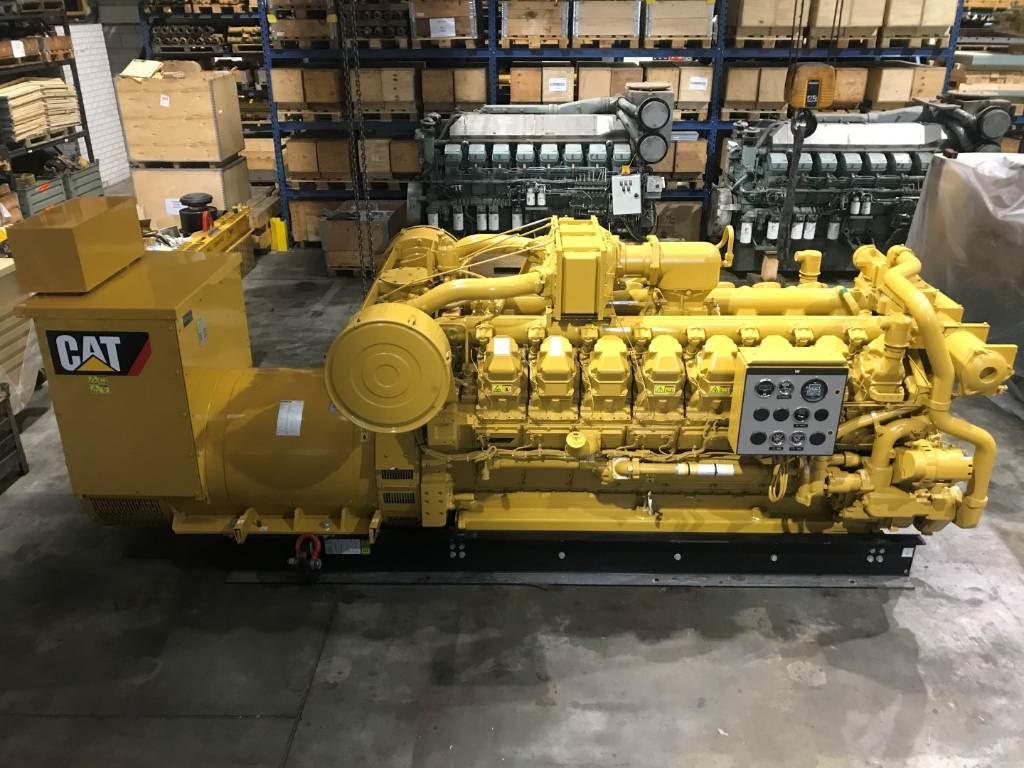 Caterpillar G 3516 - Gas Generator Set - 1218 kVa - DPH 95002, Electric Power Generator, Construction