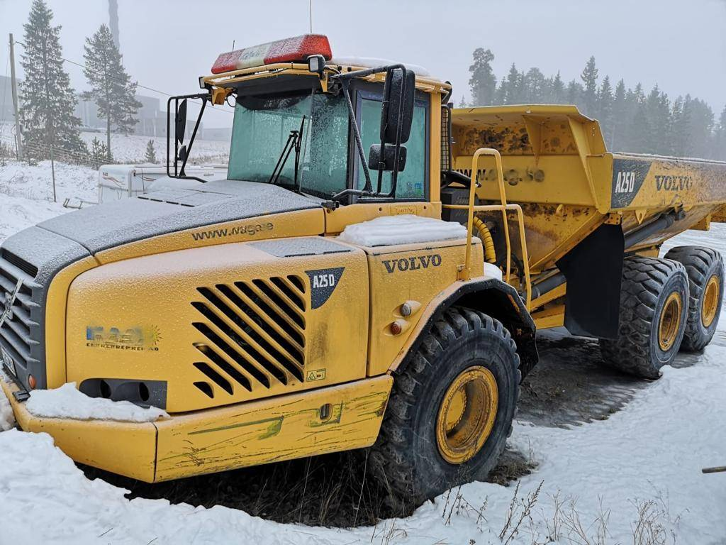 Volvo A 25 D, Articulated Dump Trucks (ADTs), Construction Equipment