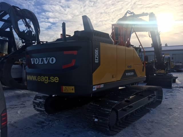 Volvo EC250EL, Bandgrävare, Entreprenad