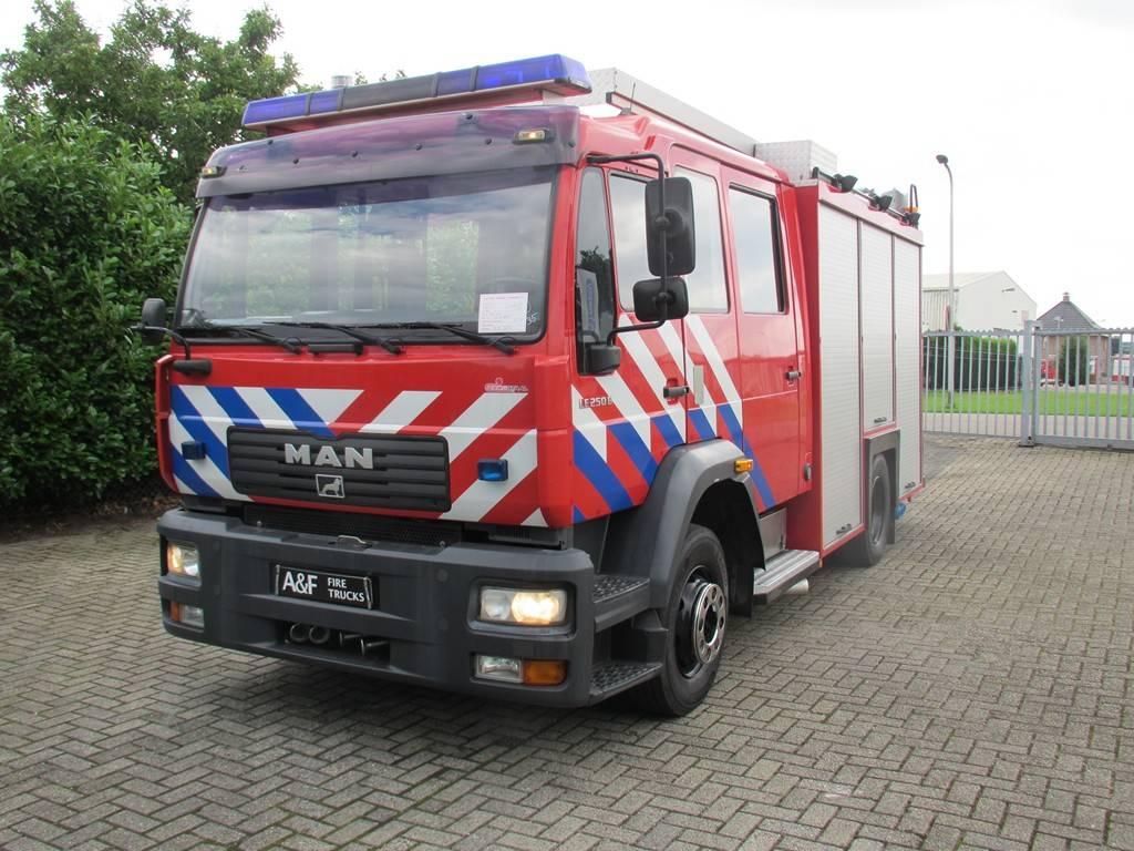 MAN LE250B, Camiones de Bomberos, Transporte