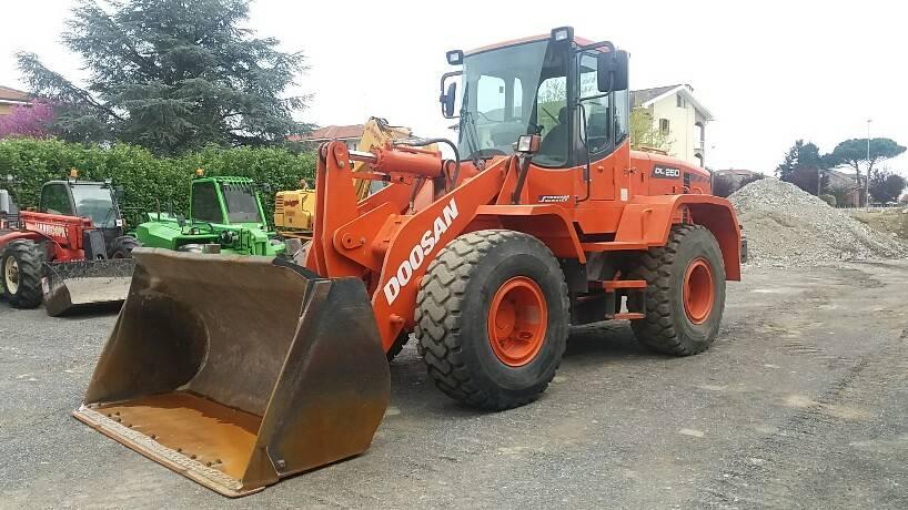 Doosan DL 250, Wheel Loaders, Construction Equipment
