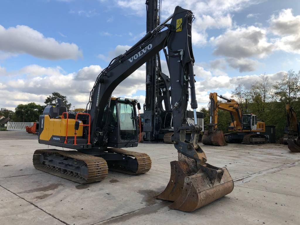 Volvo EC 140 EL, Crawler excavators, Construction