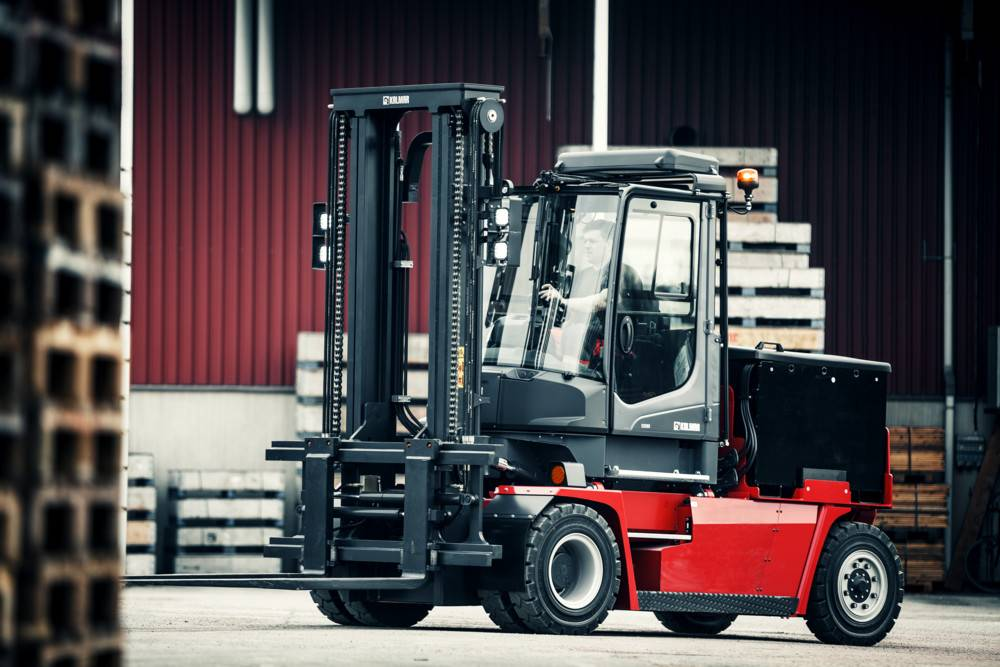Kalmar ECG80-6, Electric forklift trucks, Material Handling