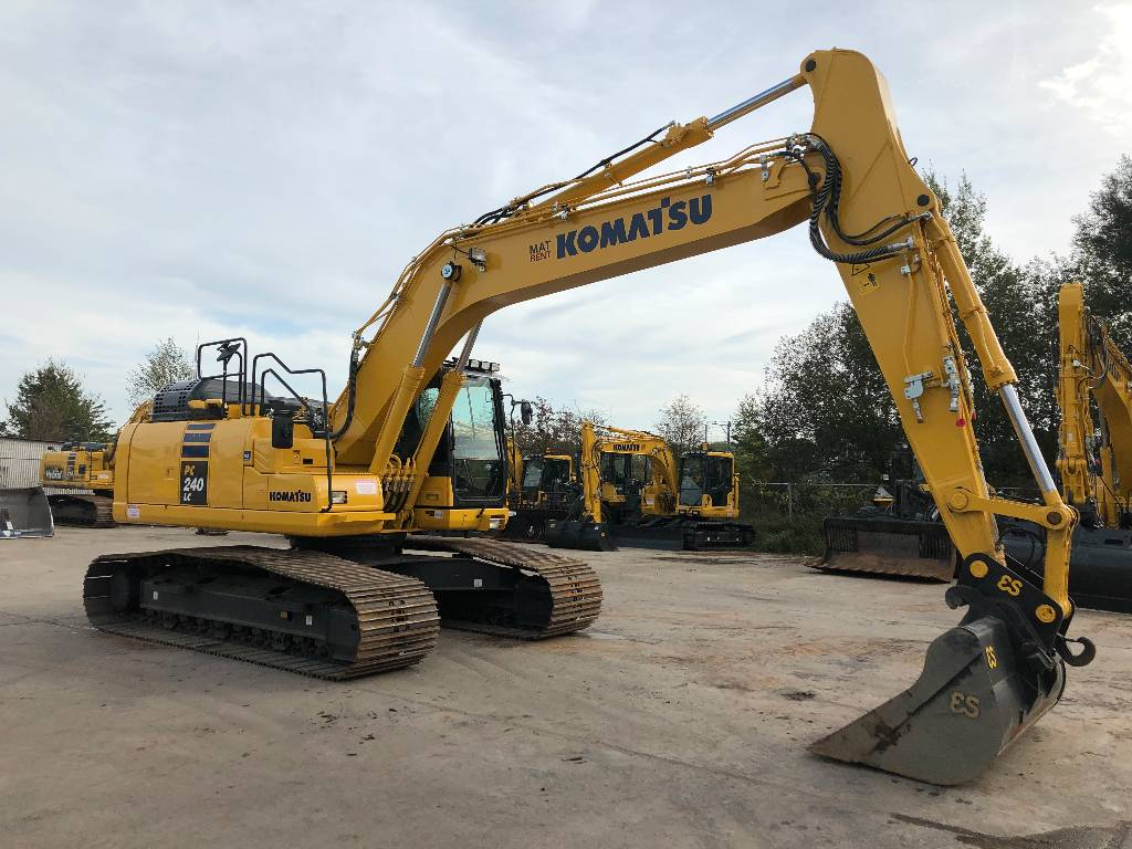 Komatsu PC240 LC-11, Crawler Excavators, Construction Equipment
