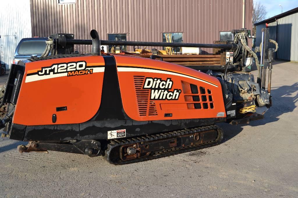Ditch Witch JT1220 MACH 1, Horisontella borriggar, Entreprenad