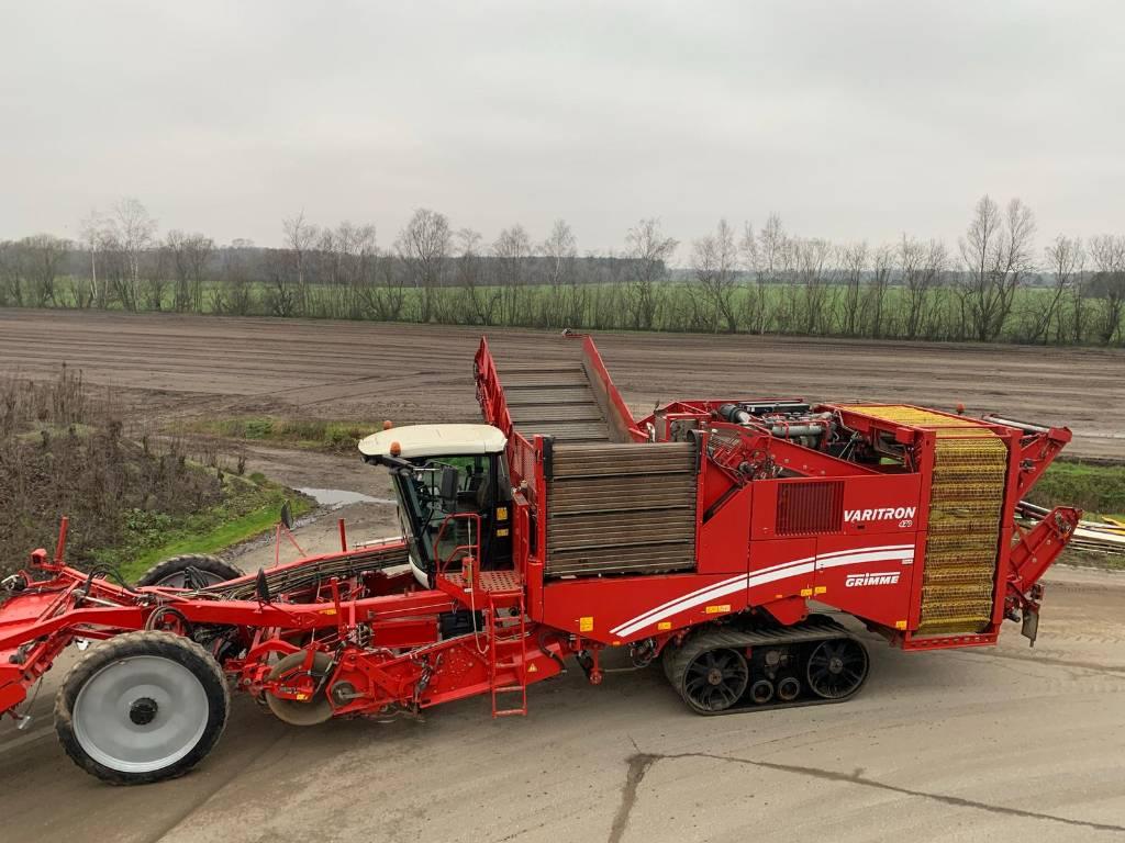Grimme Varitron 470 Terra Track, Aardappelrooiers, Landbouw