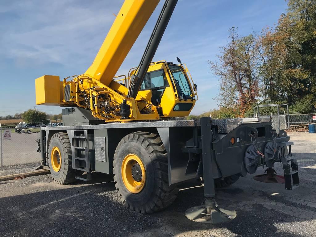 Grove GRT655L, Crane Parts and Equipment, Construction Equipment