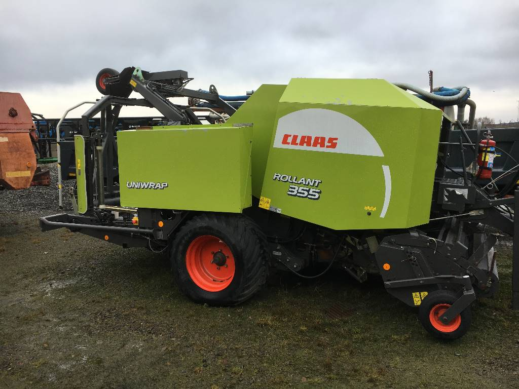 CLAAS Rollant 355 RC, Rundbalspressar, Lantbruk