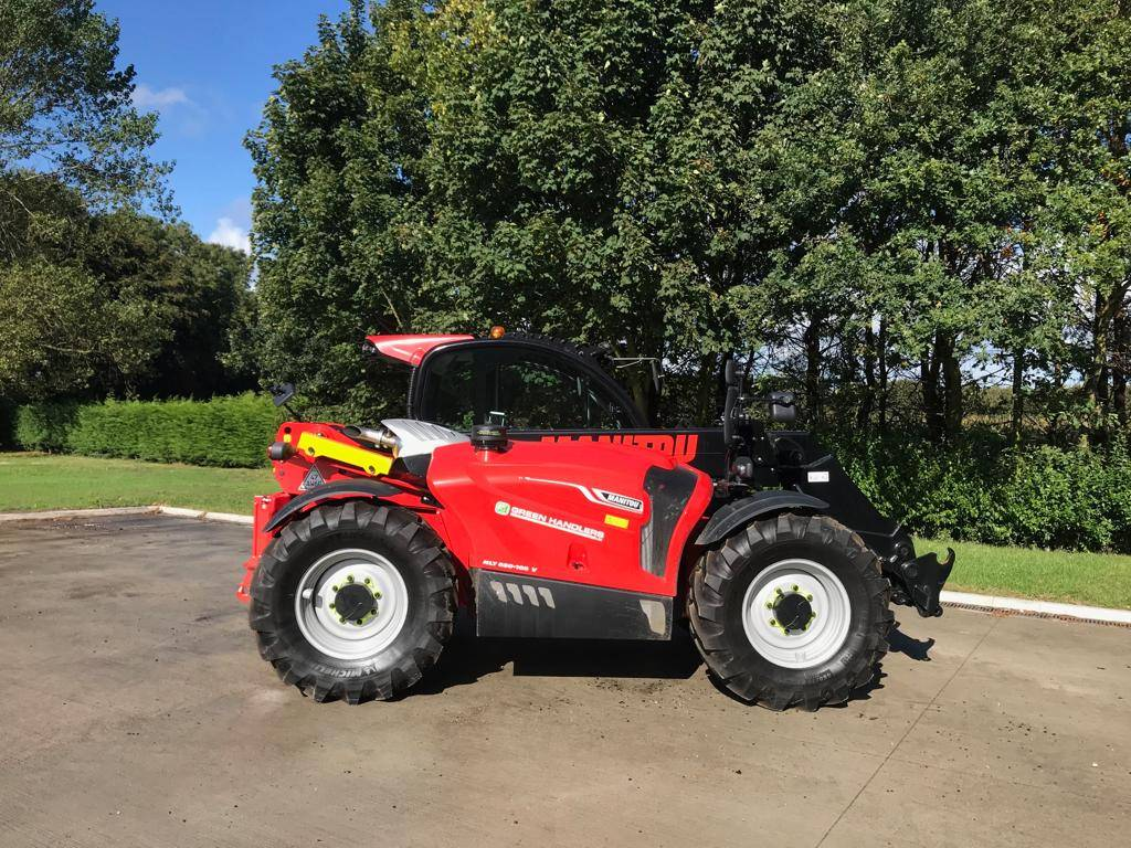 Manitou MLT 630, Telehandlers for agriculture, Agriculture
