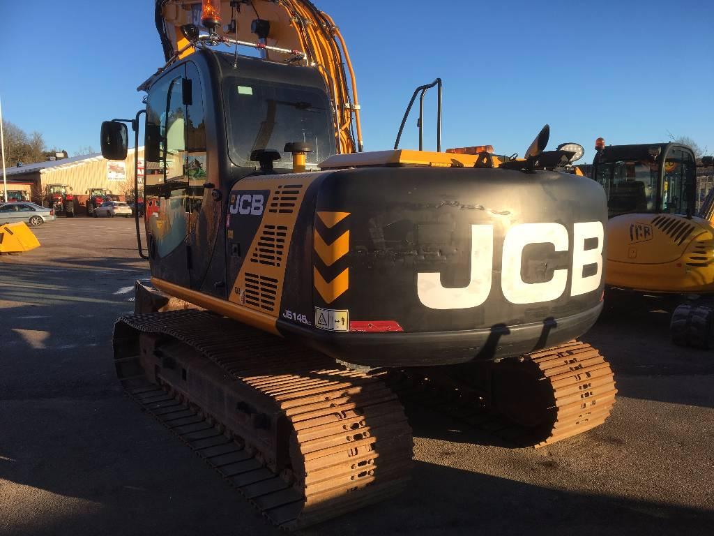 JCB JS 145 LC, Bandgrävare, Entreprenad