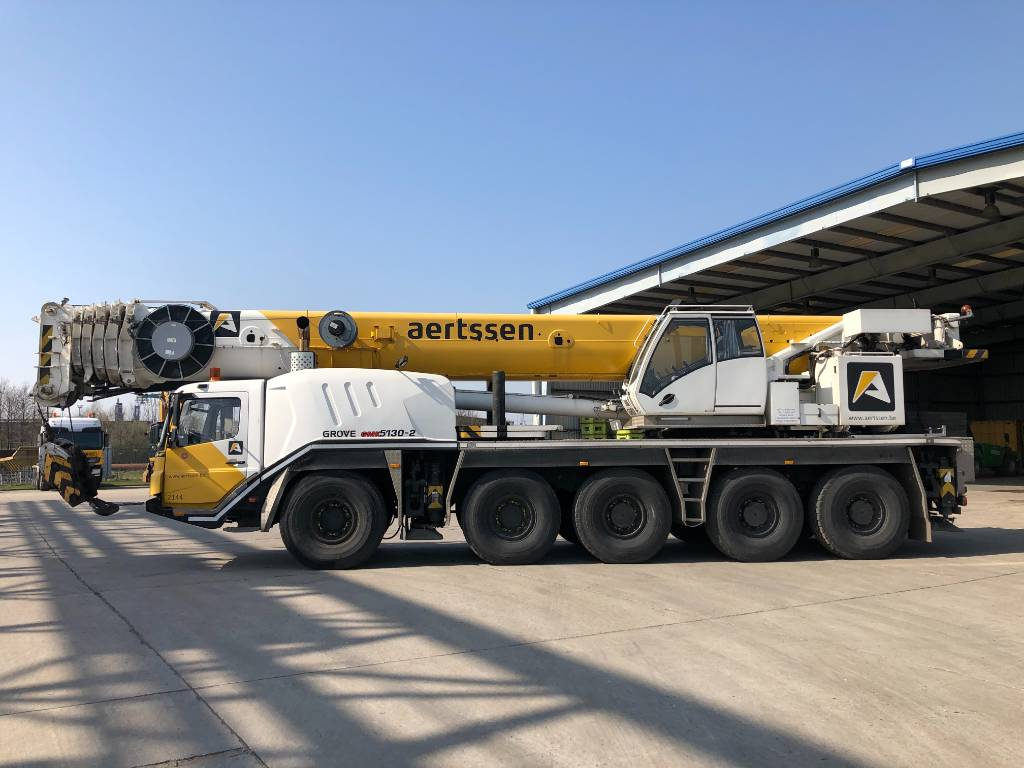 Grove GMK 5130-2, All terrain cranes, Construction