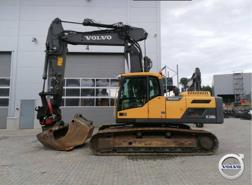 Volvo EC 220 DL, Crawler Excavators, Construction Equipment