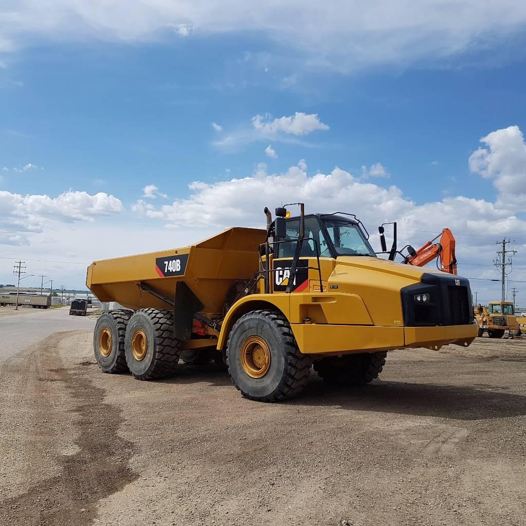 Caterpillar 740B, Articulated Dump Trucks (ADTs), Construction Equipment