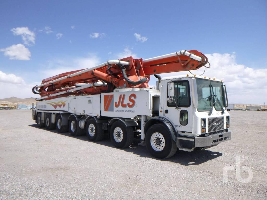 Putzmeister BSF 63Z.16H, Boom Pumps, Construction Equipment