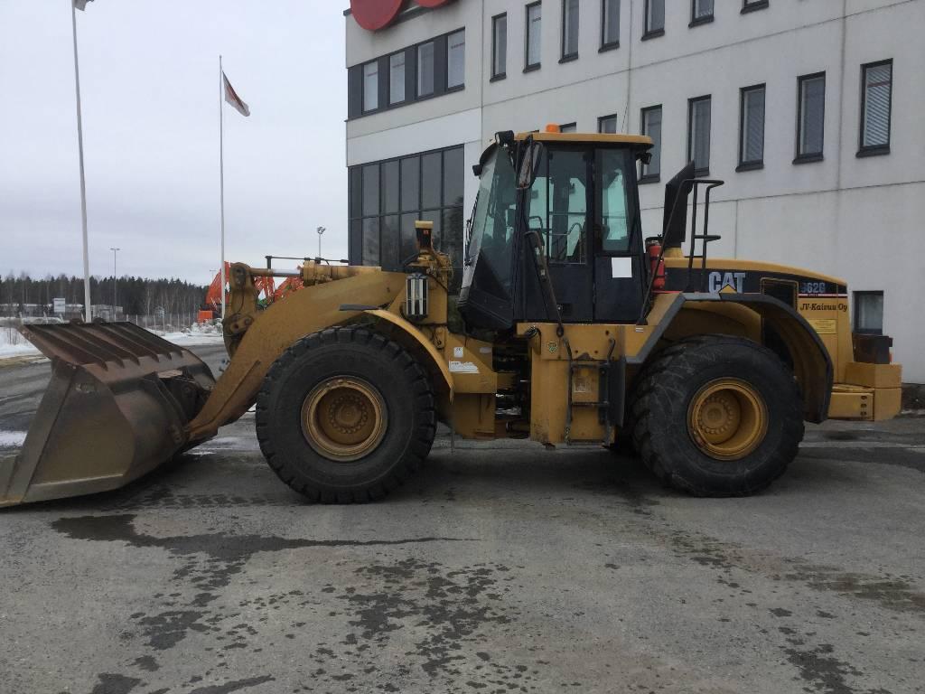 Caterpillar 962G II, Wheel loaders, Construction