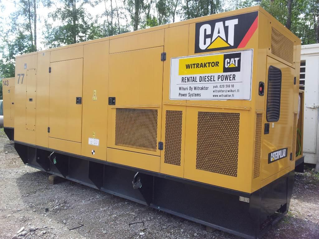 Caterpillar C15 PKGI, Dieselgeneraattorit, Maarakennus