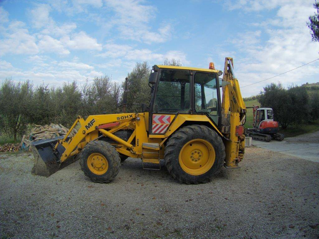 Massey Ferguson MF 50 H XS4, Backhoe Loaders, Construction Equipment