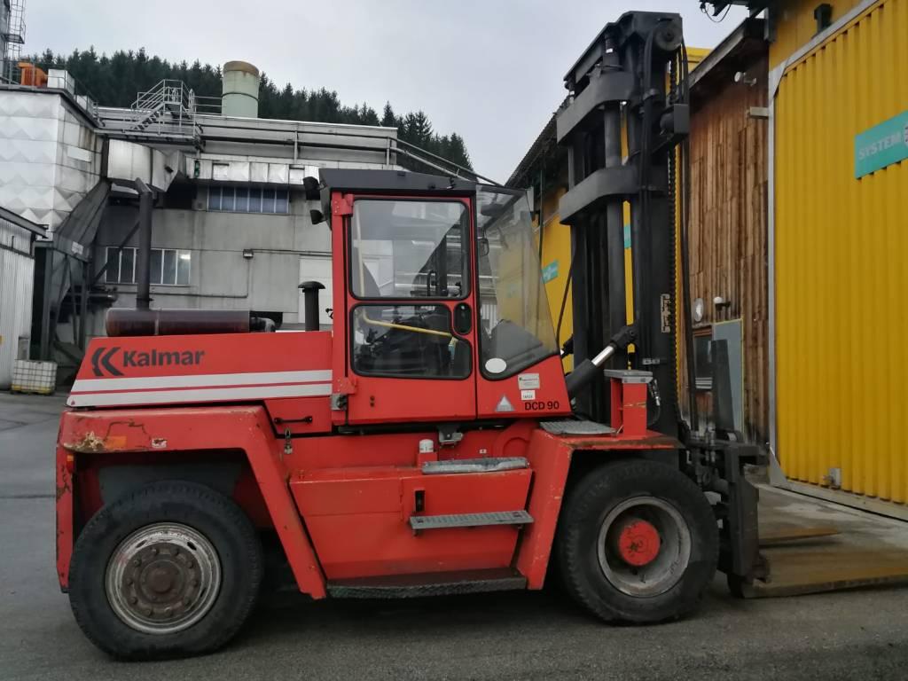 Kalmar DCF90-6XL, Dieseltrukit, Materiaalinkäsittely
