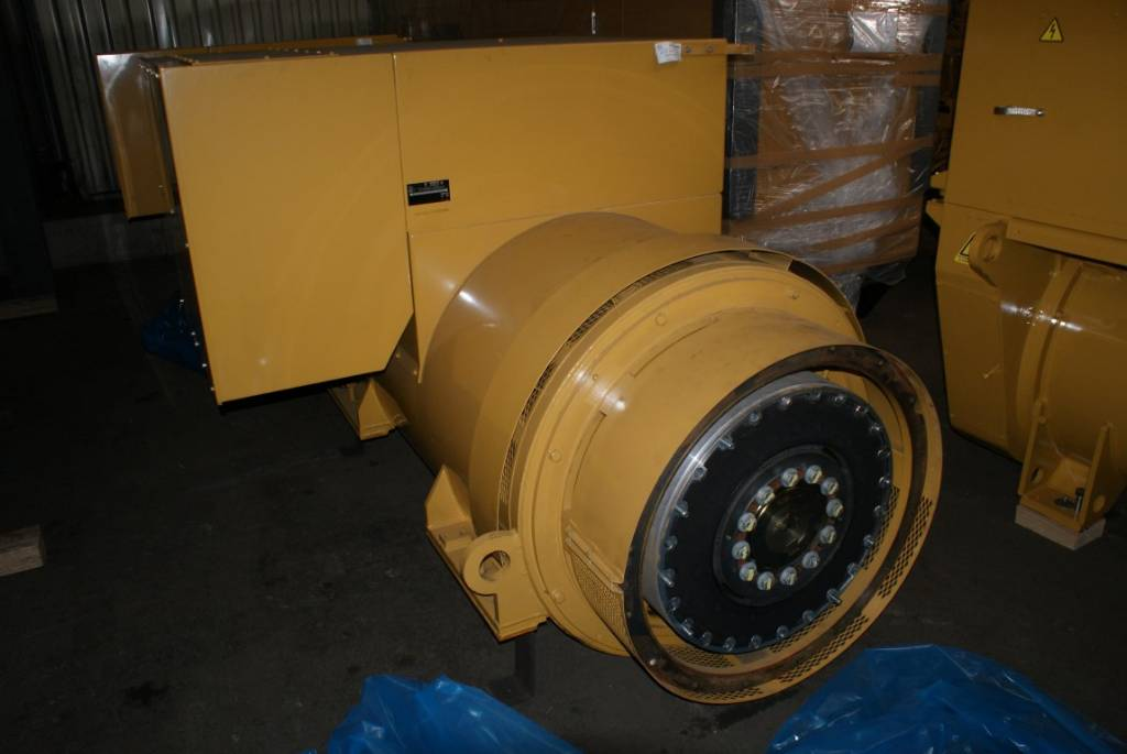 Kato Generator End 4P6.6 - 2000 kW - DPH 104294, Generator Ends, Construction